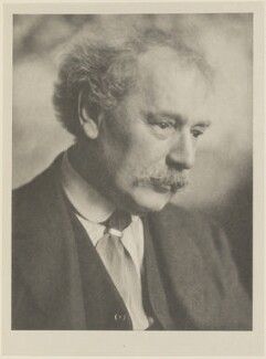 Arthur Edward Waite, by Alvin Langdon Coburn, published by  Duckworth & Co - NPG Ax7839