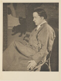 Edmund Dulac, by Alvin Langdon Coburn, published by  Duckworth & Co - NPG Ax7825