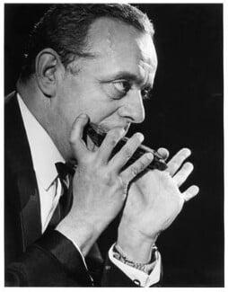 Larry Adler, by Jim Barron, mid 1960s - NPG x87775 - © estate of Jim Barron