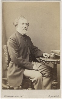 Robert Browning, by London Stereoscopic & Photographic Company - NPG Ax5076