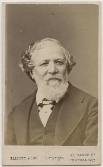 Robert Browning, by Elliott & Fry - NPG Ax18223