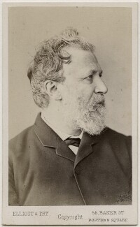 Robert Browning, by Elliott & Fry, 1860s - NPG Ax17799 - © National Portrait Gallery, London