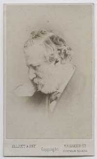 Robert Browning, by Elliott & Fry - NPG Ax39903
