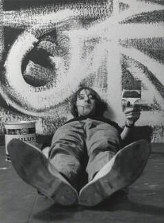Barry Fantoni, by Lewis Morley, 1965 - NPG x125177 - © Lewis Morley Archive / National Portrait Gallery, London