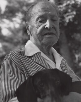Somerset Maugham, by Lewis Morley - NPG x125209
