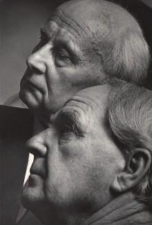 Henry Moore; Marino Marini, by Lewis Morley - NPG x125211