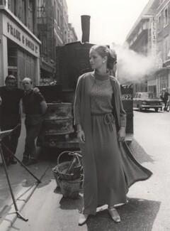 Charlotte Rampling, by Lewis Morley, 1967 - NPG x125221 - © Lewis Morley Archive / National Portrait Gallery, London