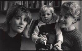 Vanessa Redgrave; Natasha Richardson; Rachel Kempson, Lady Redgrave, by Lewis Morley, mid 1960s - NPG x125224 - © Lewis Morley Archive