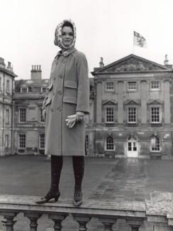 Henrietta Joan (née Tiarks), Duchess of Bedford, by Lewis Morley, 1960s - NPG x125239 - © Lewis Morley Archive