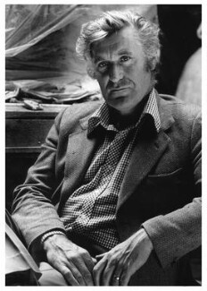 Ted Hughes, by Noel Chanan - NPG x125273