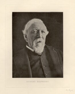 Robert Browning, by Eveleen Myers (née Tennant) - NPG x12535
