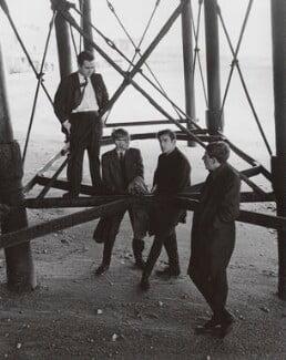Beyond the Fringe (Dudley Moore; Alan Bennett; Peter Cook; Jonathan Miller), by Lewis Morley - NPG x125263