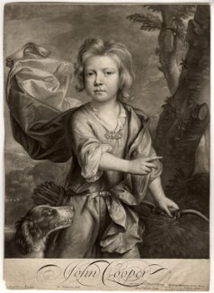 John Cooper, by William Faithorne Jr, after  Johann Kerseboom - NPG D11467