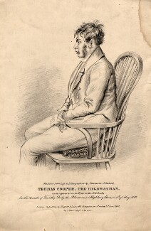 Thomas Cooper, by Alexander O'Driscoll, printed by  Day & Haghe, published by  Tregear & Lewis - NPG D11468