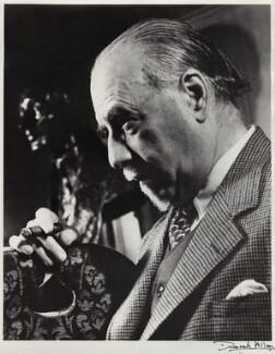 Sir Thomas Beecham, 2nd Bt, by Derek Allen, 1948 - NPG x24101 - © Derek Allen / National Portrait Gallery, London