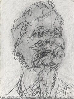Frank Auerbach, by Frank Auerbach, 1994-2001 - NPG  - © Frank Auerbach / Marlborough Fine Art (London) Ltd / National Portrait Gallery, London