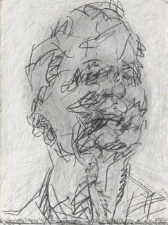 Frank Auerbach, by Frank Auerbach, 1994-2001 - NPG  - © Frank Auerbach / Marlborough Fine Art (London) Ltd / National Portrait Gallery, London