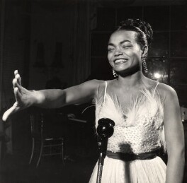 Eartha Kitt, by (Edward) Russell Westwood - NPG x35242