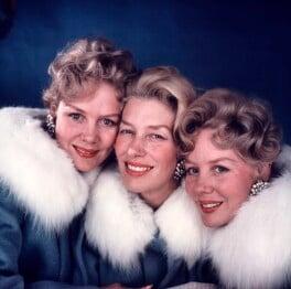 'The Beverley Sisters' (Joy Beverley; Teddie Beverley; Babs Beverley), by David Wedgbury - NPG x76434