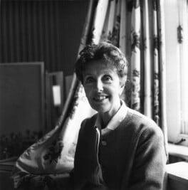 Joyce Grenfell, by Janet Stone - NPG x23333