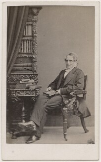 (John) Frederick Denison Maurice, by William Edward Kilburn, published by  Mason & Co (Robert Hindry Mason) - NPG Ax7495