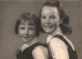 Petula Clark; Barbara Clark, by Eric Smith - NPG x28649