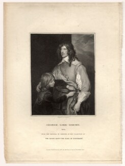 George Goring, Baron Goring, by James Thomson (Thompson), after  Sir Anthony van Dyck - NPG D11471