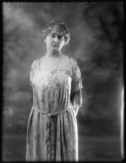 Agatha Eleanor Augusta Fellowes (née Jolliffe), Lady Ailwyn, by Bassano Ltd, 28 January 1920 - NPG x120088 - © National Portrait Gallery, London