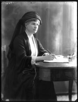 Dame Alice Mary Godman, by Bassano Ltd - NPG x120136