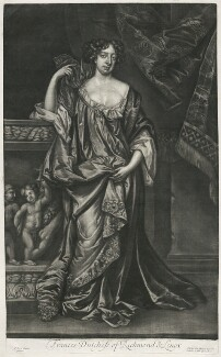 Frances Teresa Stuart, Duchess of Richmond and Lennox, published by Alexander Browne, after  Sir Peter Lely - NPG D11404