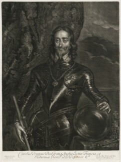King Charles I, published by Alexander Browne, after  Sir Anthony van Dyck, circa 1680-4 - NPG D11406 - © National Portrait Gallery, London
