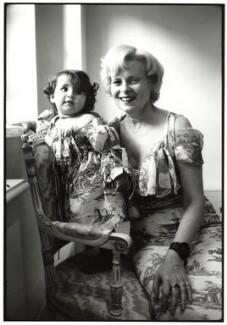 Cora Corré; Dame Vivienne Westwood, by Johnnie Shand Kydd - NPG x87738