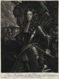 King William III, published by Alexander Browne, after  Sir Peter Lely, circa 1680-84 (circa 1677) - NPG  - © National Portrait Gallery, London