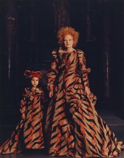 Cora Corré; Dame Vivienne Westwood, by Kevin Mackintosh - NPG x125278