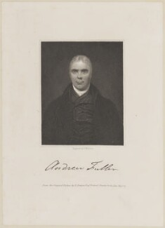 Andrew Fuller, by J. Morrison, after  Robert Bowyer - NPG D11460