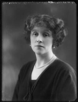 Hon. Dorothy Vesey (née Strachen), by Bassano Ltd - NPG x120186
