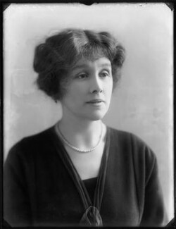 Hon. Dorothy Vesey (née Strachen), by Bassano Ltd - NPG x120187
