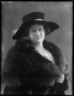 Kathleen (née Harvey), Viscountess Simon, by Bassano Ltd - NPG x120201