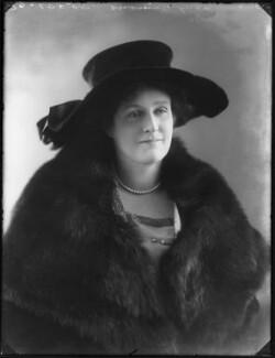 Kathleen (née Harvey), Viscountess Simon, by Bassano Ltd - NPG x120205