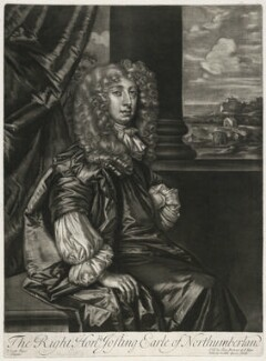 Joceline Percy, 11th Earl of Northumberland, published by Alexander Browne, after  Sir Peter Lely, circa 1684 - NPG  - © National Portrait Gallery, London