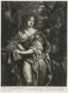 Elizabeth Montagu (née Wriothesley), Countess of Montagu when Countess of Northumberland, published by Alexander Browne, after  Sir Peter Lely - NPG D11418