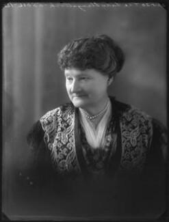 Georgiana Marcia (née McLean), Lady Llangattock, by Bassano Ltd - NPG x78537