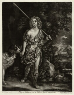 Henry Sidney, Earl of Romney, sold by Alexander Browne, after  Sir Peter Lely, circa 1684 (circa 1650-1654) - NPG D11425 - © National Portrait Gallery, London