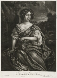 Essex Finch (née Rich), Countess of Nottingham, published by Alexander Browne, after  Sir Peter Lely - NPG D11427