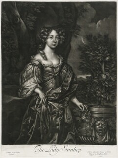 Elizabeth Lyon (née Stanhope), Countess of Strathmore, published by Alexander Browne, after  Sir Peter Lely - NPG D11429