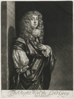 Ralph Grey, 2nd Baron Grey of Warke, published by Alexander Browne, after  Sir Peter Lely, circa 1684 - NPG  - © National Portrait Gallery, London