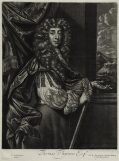 Thomas Thynne, published by Alexander Browne, after  Sir Peter Lely, circa 1684 - NPG  - © National Portrait Gallery, London