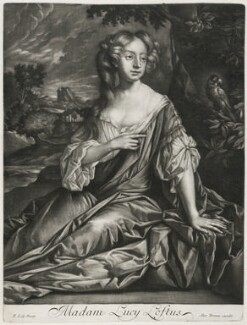 Lucy Loftus (née Brydges), Viscountess Lisburne, published by Alexander Browne, after  Sir Peter Lely, circa 1684 - NPG D11439 - © National Portrait Gallery, London