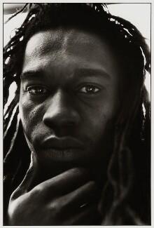 Benjamin Zephaniah, by Miriam Reik, 1980s - NPG  - © Miriam Reik