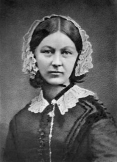 Florence Nightingale, by Henry Hering, copied by  Elliott & Fry - NPG x82368